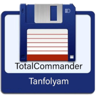 Total Commander tanfolyam logo